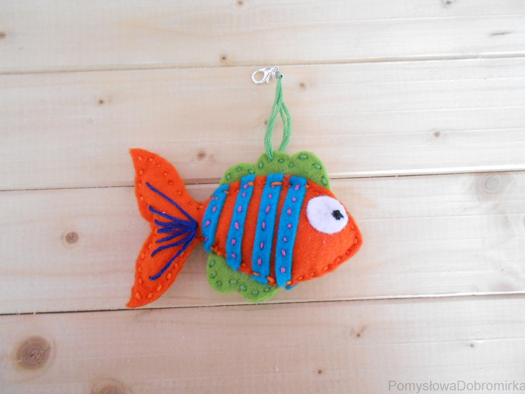 Filcowa rybka