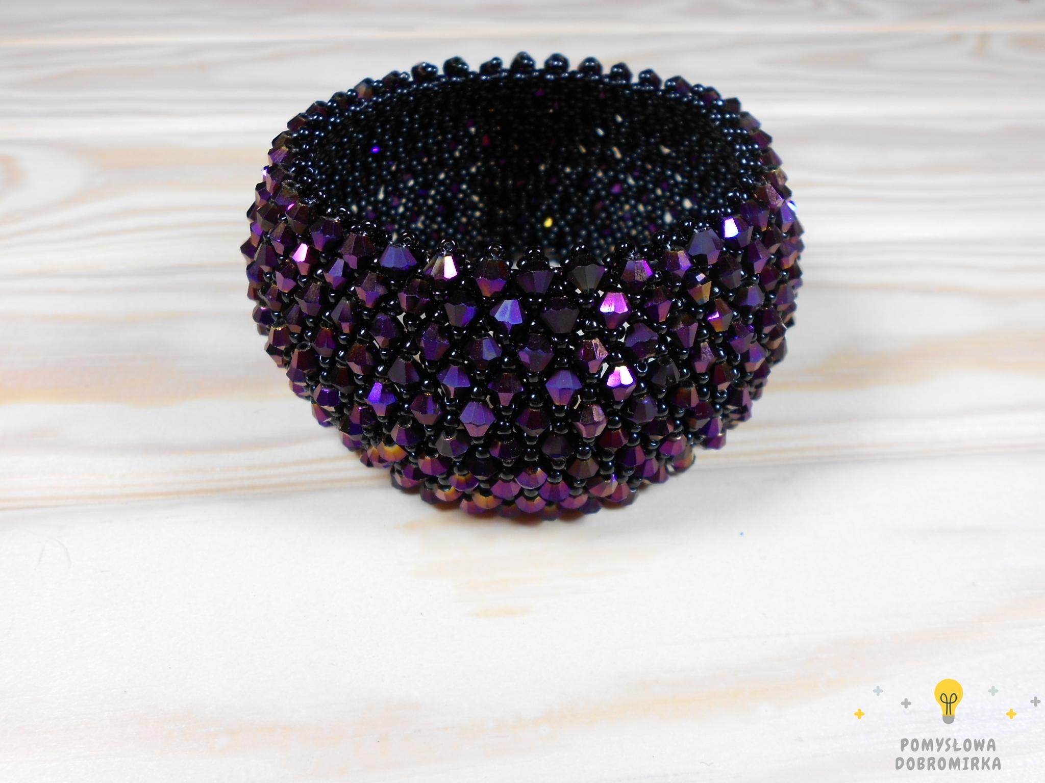 Bransoletka Caprice w kolorze fioletowym