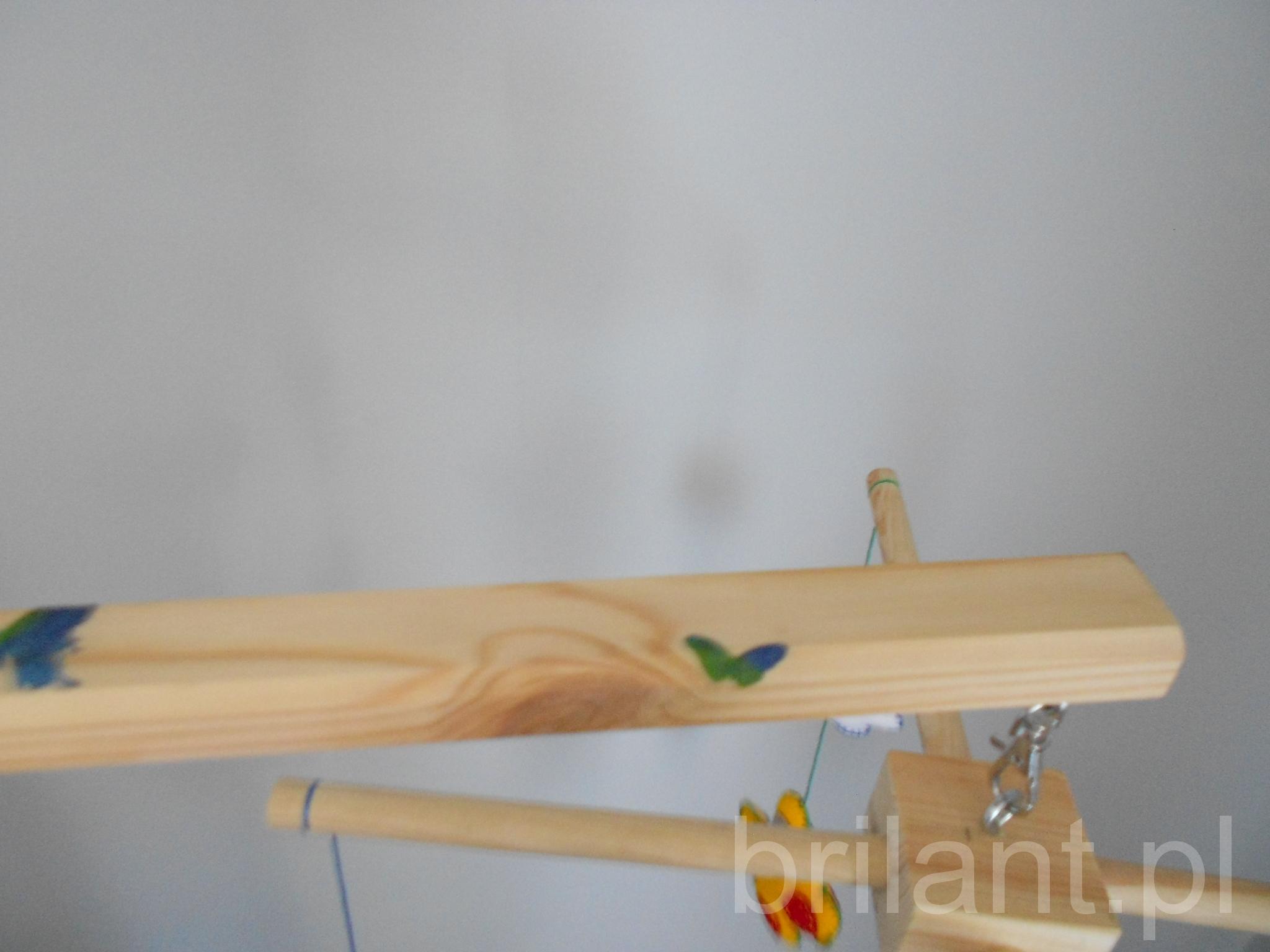 Karuzela dziecięca ręcznie robiona