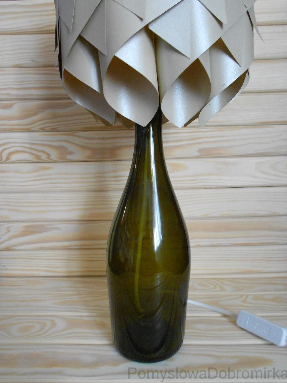 Lampka nocna z butelki
