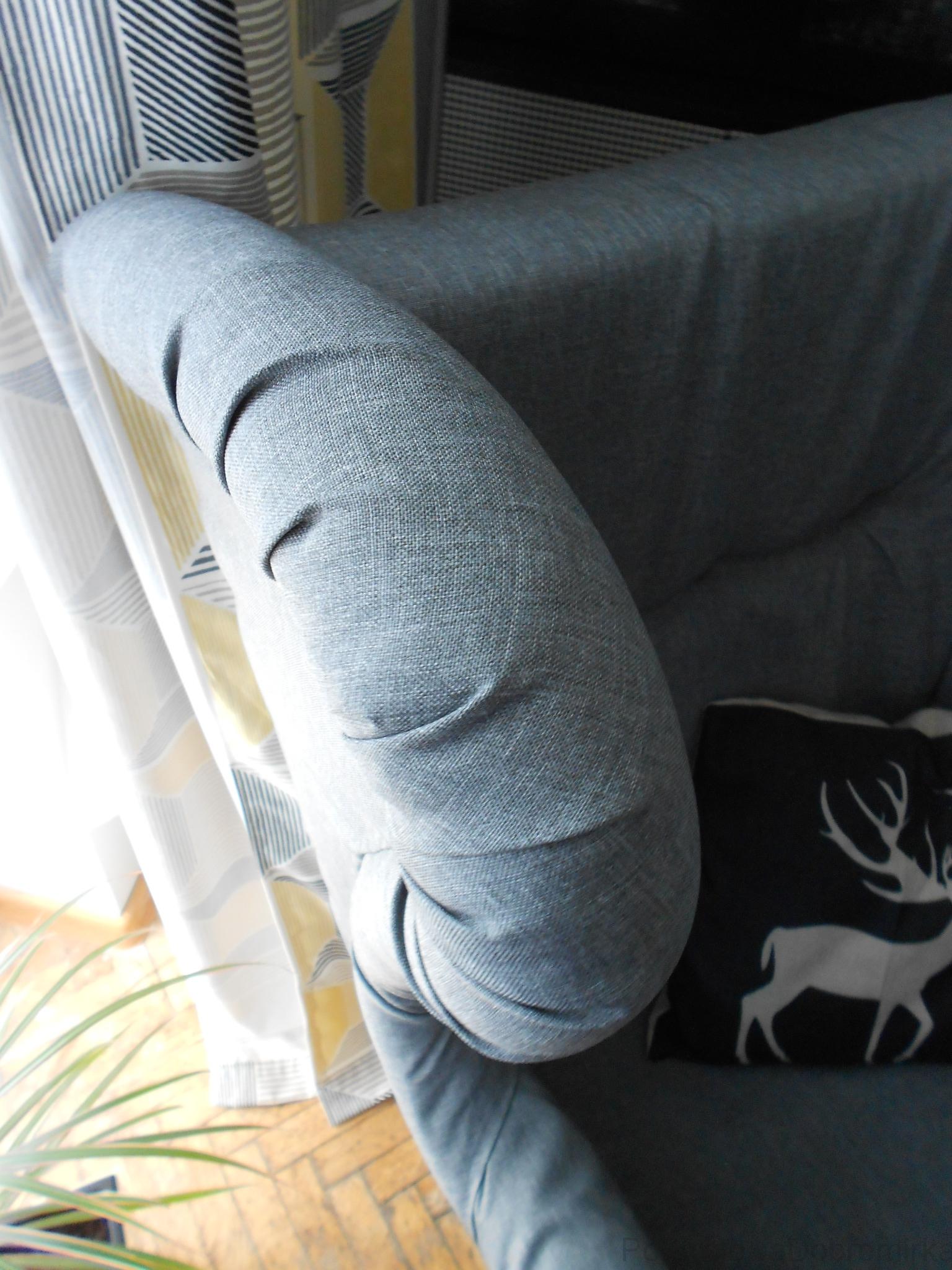Fotel ręcznie robiony