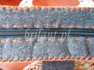 Filcowa torba na laptopa