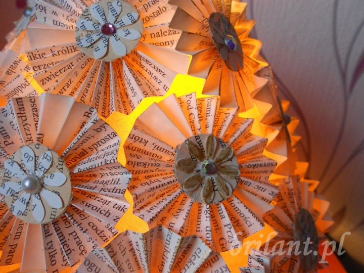 Lampa - handmade