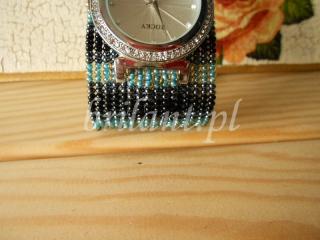 Zegarek koralikowy