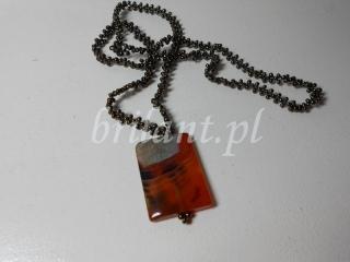 Naszyjnik z naturalnym kamieniem
