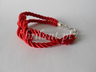 Bransoletka ze sznurka