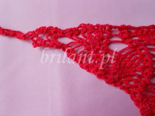 Szydełkowe stringi